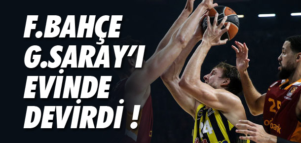 Galatasaray Odeabank-Fenerbahçe: 87-103