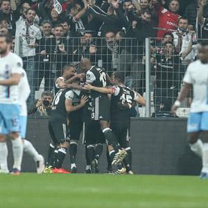 Beşiktaş'ın zirve takibi ! Trabzon'a geçit yok...