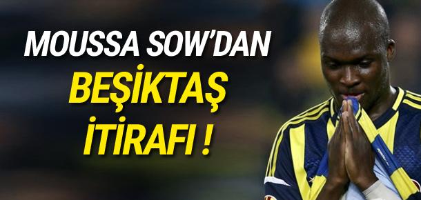 Sow'dan Beşiktaş itirafı
