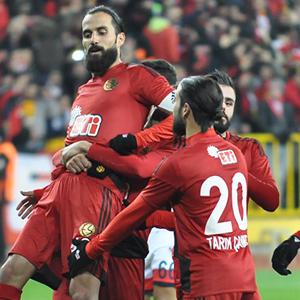 Eskişehirspor fark attı