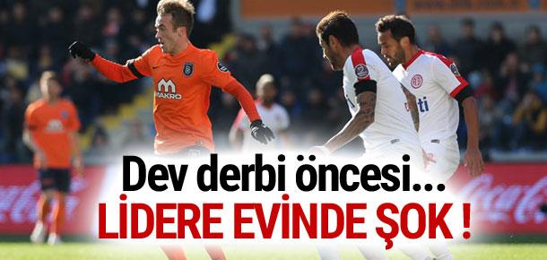 Medipol Başakşehir'e evinde büyük şok: 2-2