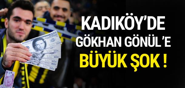 Kadıköy'de Gökhan Gönül'e büyük tepki