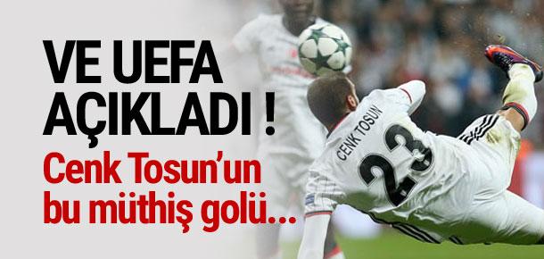 Şampiyonlar Ligi'nde haftanın golü Cenk Tosun'dan