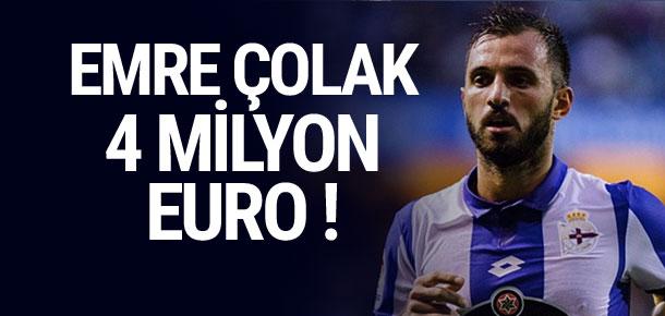 Emre Çolak 4 milyon euro