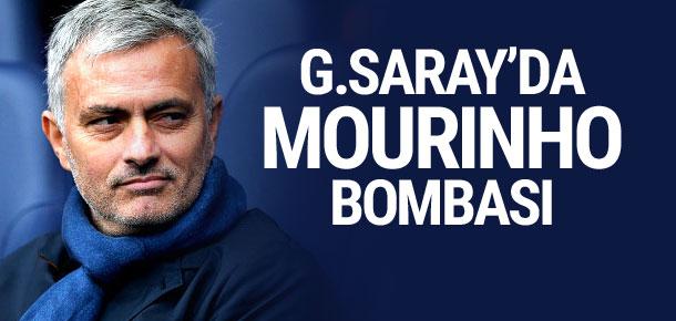 Galatasaray'da Mourinho bombası