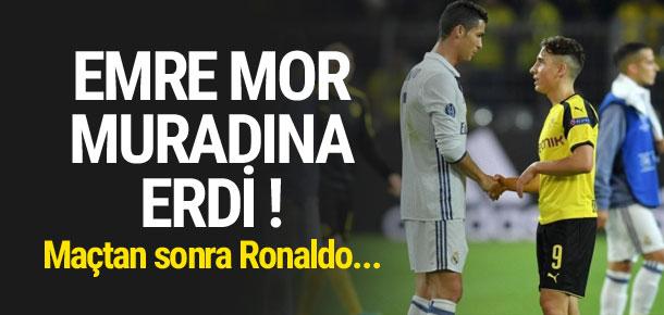 Emre Mor, Ronaldo'nun formasını aldı