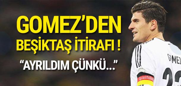 Mario Gomez'den Beşiktaş itirafı