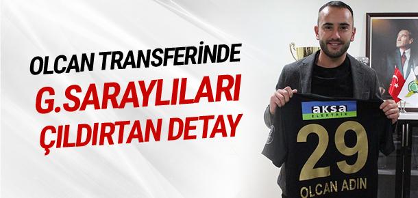 Olcan'ın maaşını Galatasaray tamamlayacak