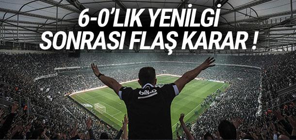Beşiktaş taraftarından flaş karar !