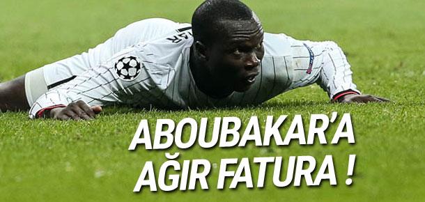 Aboubakar'a ağır fatura !