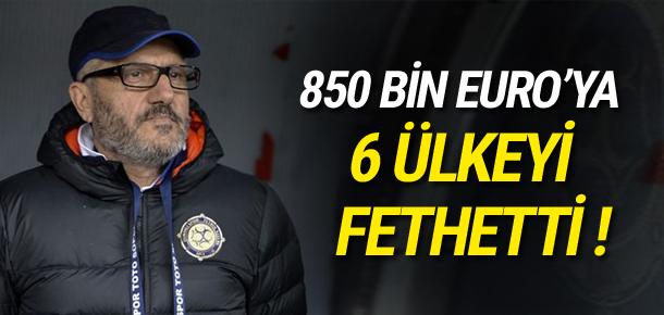 850 bin euroya, 6 ülkeyi fethetti !