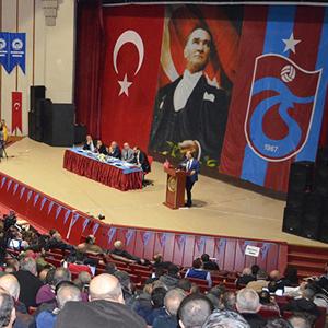 Trabzonspor Genel Kurulu'na FETÖ damgası