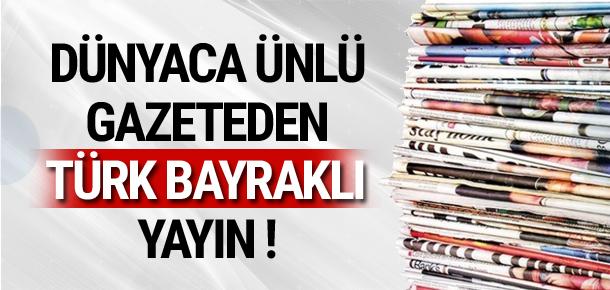 Marca'dan Türk bayraklı logo