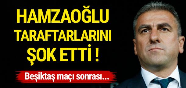 Hamzaoğlu: Bülent Yıldırım iyi maç yönetti