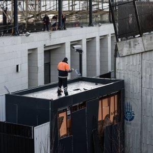 Vodafone Arena'da patlama sonrası görüntüler