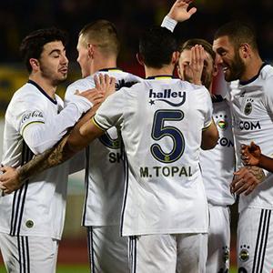 Fenerbahçe'den müthiş prova !