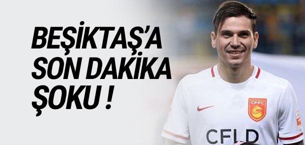 Beşiktaş'a son dakika şoku !
