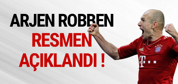 Robben sözleşme yeniledi