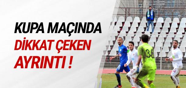 İnegölspor - Çaykur Rizespor maçında 1 taraftar !