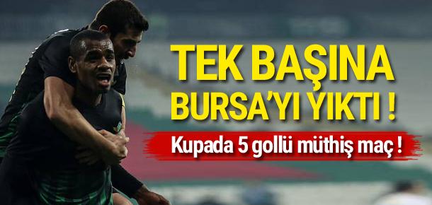 Vaz Te Bursaspor'u dağıttı