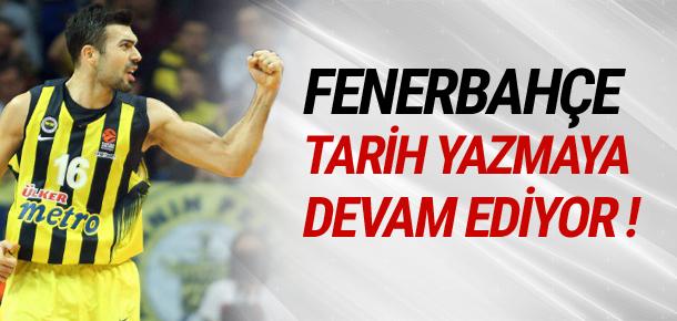 Fenerbahçe Panathinaikos'u yıktı