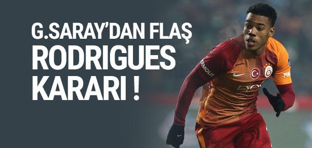 Rodrigues, 2. yarıda oyuna girecek