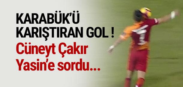 Cüneyt Çakır, pozisyonu Yasin'e sordu !
