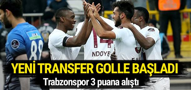Trabzonspor 3 puana alıştı