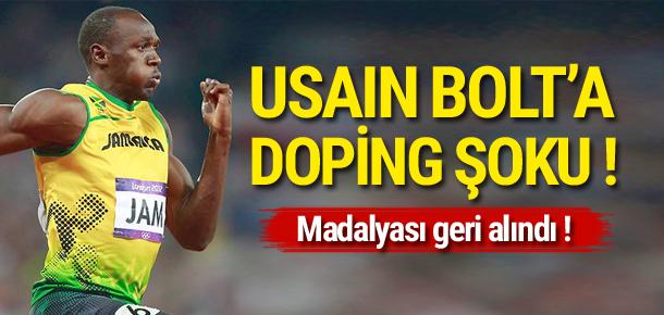 Usain Bolt'a doping şoku !