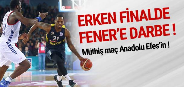 Erken final Anadolu Efes'in !