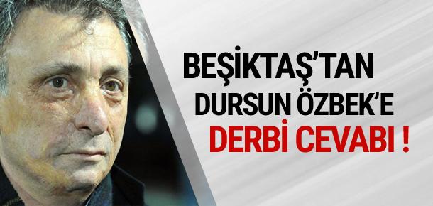 Ahmet Nur Çebi'den derbi cevabı