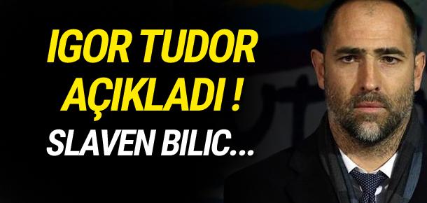Igor Tudor en iyi 11'ini açıkladı