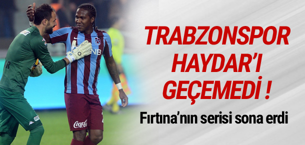 Trabzonspor kaleciyi geçemedi
