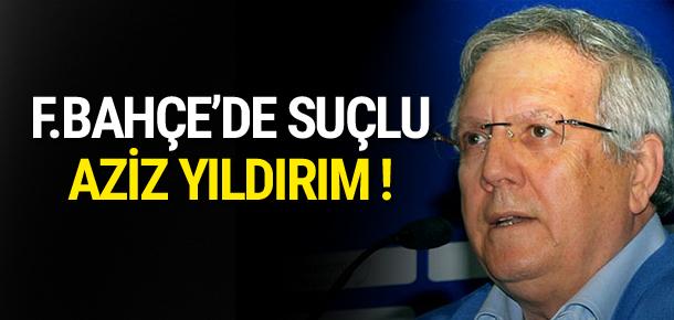 Fenerbahçe taraftarı Aziz Yıldırım'ı istemiyor