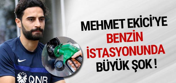 Mehmet Ekici'ye benzin istasyonunda büyük şok !
