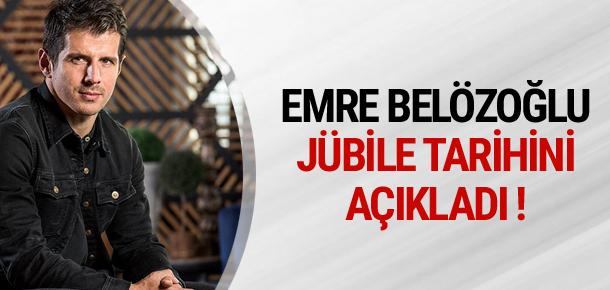 Emre Belözoğlu jübile tarihini açıkladı