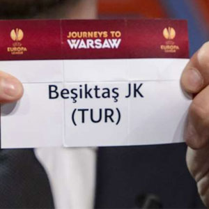 Beşiktaş'ın rakibi belli oldu !