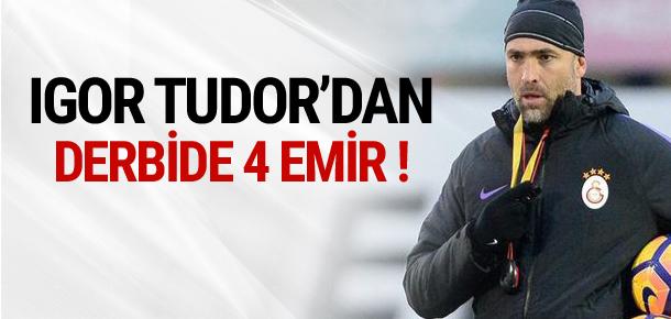İşte Igor Tudor'un Beşiktaş planı