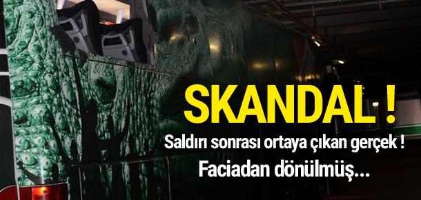 Bursaspor futbolcularına saldırıda skandal ortaya çıktı !
