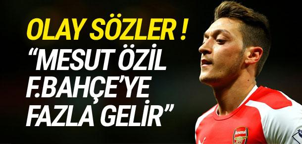 Michael Ballack: ''Mesut Özil Fenerbahçe'ye fazla gelir''
