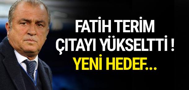 Fatih Terim çıtayı yükseltti !