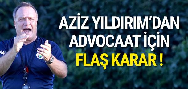 Advocaat sezon sonuna kadar Fenerbahçe'de !