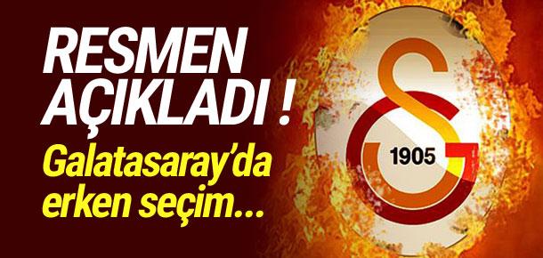 Galatasaray erken seçime mi gidiyor ?