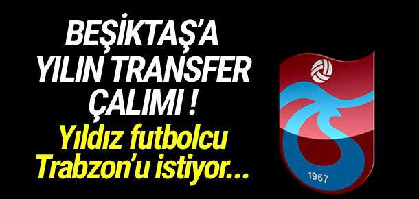 Trabzonspor'dan Beşiktaş'a Deniz Türüç çalımı