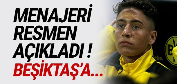 Emre Mor'un menajerinden Beşiktaş açıklaması