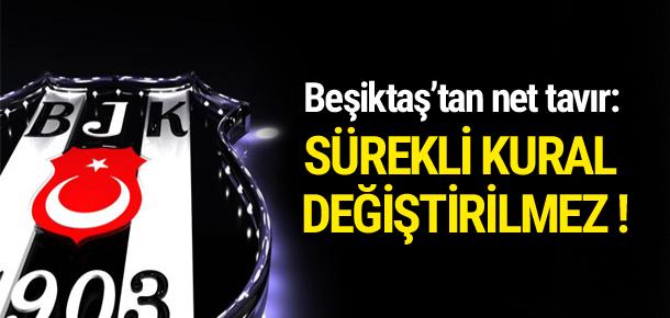 Beşiktaş'tan yabancı kuralı açıklaması