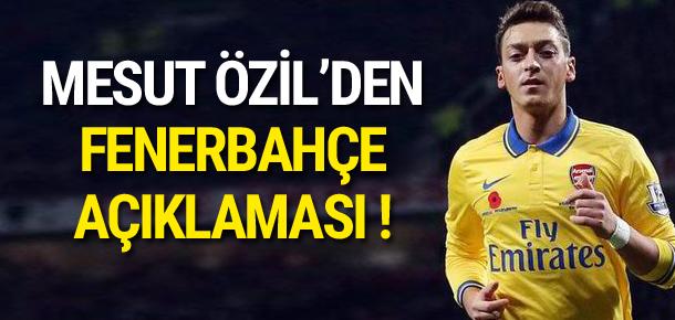 Mesut Özil'den flaş açıklama !