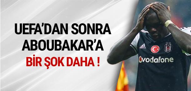 Aboubakar'a bir şok daha !