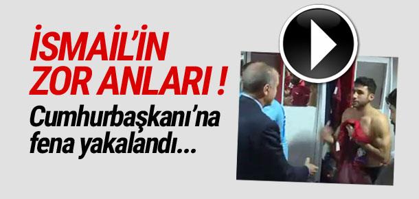 İsmail Köybaşı Cumhurbaşkanı'na çıplak yakalandı !