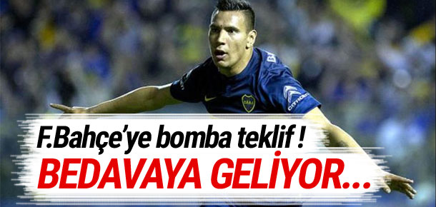 Arjantinli golcü Andrés Chávez Fenerbahçe'ye !